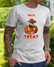 TRICK OR  TREAT Classic T-Shirt lifestyle-mens-crewneck-front-7