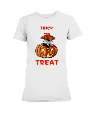 TRICK OR  TREAT Premium Fit Ladies Tee thumbnail