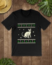 Christmas Peterbald Cat Premium Fit Mens Tee lifestyle-mens-crewneck-front-18