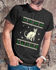 Christmas Peterbald Cat Premium Fit Mens Tee lifestyle-mens-crewneck-front-4
