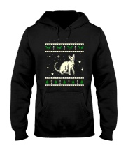 Christmas Peterbald Cat Hooded Sweatshirt thumbnail