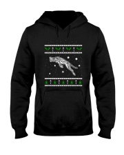 Christmas Savannah Cat Hooded Sweatshirt thumbnail