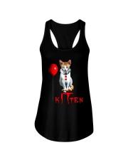 CAT KITTEN Ladies Flowy Tank thumbnail