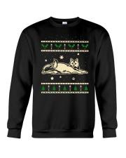 Christmas Calico Cat Crewneck Sweatshirt thumbnail