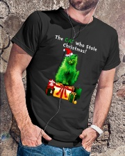 CAT CHRISTMAS Premium Fit Mens Tee lifestyle-mens-crewneck-front-4
