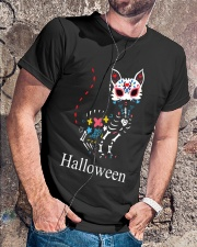 CAT HALLOWEEN Premium Fit Mens Tee lifestyle-mens-crewneck-front-4