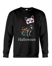 CAT HALLOWEEN Crewneck Sweatshirt thumbnail