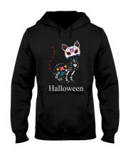 CAT HALLOWEEN Hooded Sweatshirt thumbnail