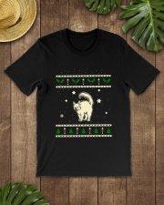 Christmas Turkish Angora Cat Premium Fit Mens Tee lifestyle-mens-crewneck-front-18