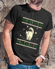Christmas Turkish Angora Cat Premium Fit Mens Tee lifestyle-mens-crewneck-front-4
