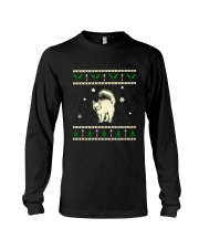 Christmas Turkish Angora Cat Long Sleeve Tee thumbnail