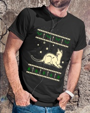 Christmas Siganpura Cat Premium Fit Mens Tee lifestyle-mens-crewneck-front-4
