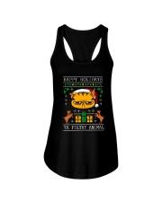 BLACK CAT Ladies Flowy Tank thumbnail