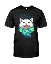 WHITE CAT Premium Fit Mens Tee front