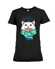 WHITE CAT Premium Fit Ladies Tee thumbnail