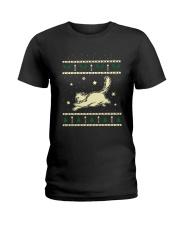 Christmas Birman Cat Ladies T-Shirt thumbnail