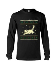 Christmas Birman Cat Long Sleeve Tee thumbnail