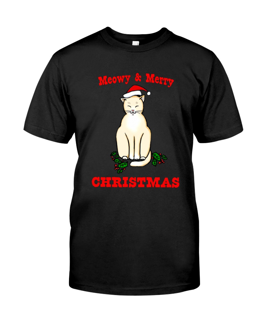 MEOWY AND MERRY Premium Fit Mens Tee