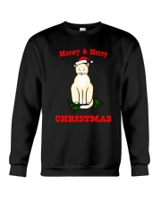 MEOWY AND MERRY Crewneck Sweatshirt thumbnail