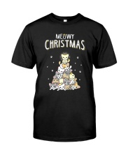 MEOWY CHRISTMAS Premium Fit Mens Tee thumbnail