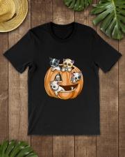 PUMPKIN CAT Premium Fit Mens Tee lifestyle-mens-crewneck-front-18