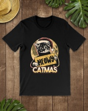 MEOWY CATMAS Premium Fit Mens Tee lifestyle-mens-crewneck-front-18