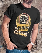 MEOWY CATMAS Premium Fit Mens Tee lifestyle-mens-crewneck-front-4