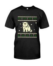 Christmas Exotic Shorthair Cat Classic T-Shirt thumbnail