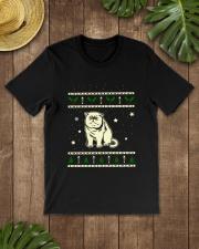 Christmas Exotic Shorthair Cat Premium Fit Mens Tee lifestyle-mens-crewneck-front-18