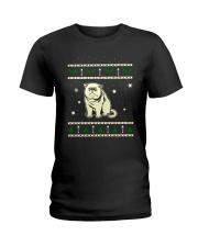 Christmas Exotic Shorthair Cat Ladies T-Shirt thumbnail