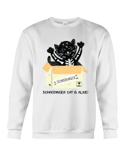CAT IS ALIVE Crewneck Sweatshirt thumbnail