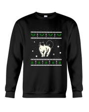 Christmas Ragdoll Cat Crewneck Sweatshirt thumbnail
