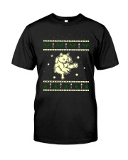 Christmas LaPerm Cat Classic T-Shirt thumbnail
