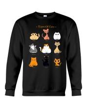 TYPES OF CATS Crewneck Sweatshirt thumbnail