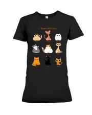 TYPES OF CATS Premium Fit Ladies Tee thumbnail