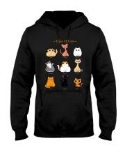 TYPES OF CATS Hooded Sweatshirt thumbnail