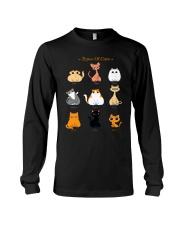 TYPES OF CATS Long Sleeve Tee thumbnail