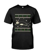 Christmas Snowshoe Cat Classic T-Shirt thumbnail