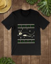 Christmas Snowshoe Cat Premium Fit Mens Tee lifestyle-mens-crewneck-front-18