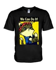 d3 V-Neck T-Shirt thumbnail