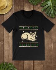 Christmas Devon Rex Cat Premium Fit Mens Tee lifestyle-mens-crewneck-front-18