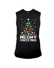 CHRISTMAS CAT Sleeveless Tee thumbnail