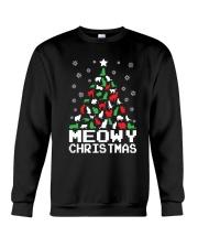 CHRISTMAS CAT Crewneck Sweatshirt thumbnail