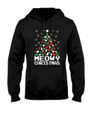 CHRISTMAS CAT Hooded Sweatshirt thumbnail