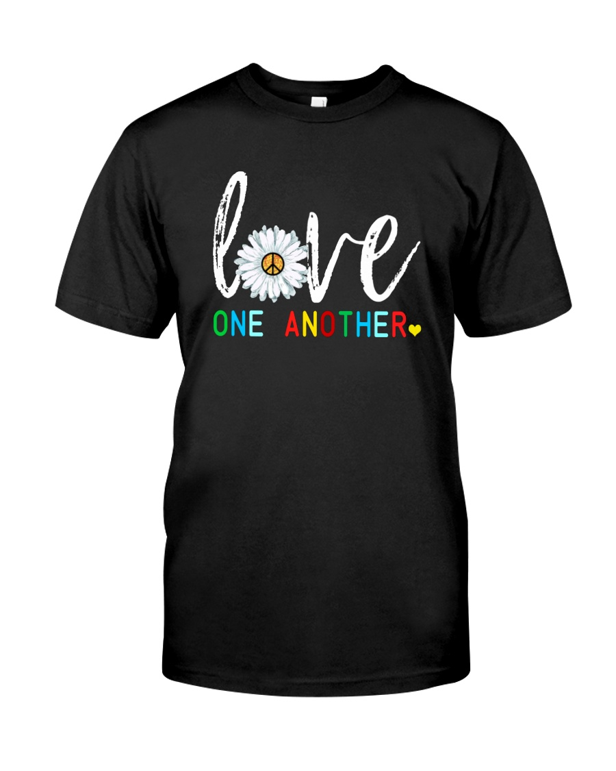 LOVE ONE ANOTHER Premium Fit Mens Tee
