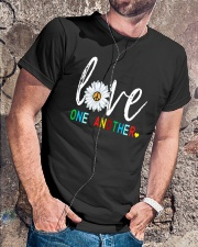 LOVE ONE ANOTHER Premium Fit Mens Tee lifestyle-mens-crewneck-front-4