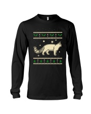 Christmas Turkish Van Cat Long Sleeve Tee thumbnail