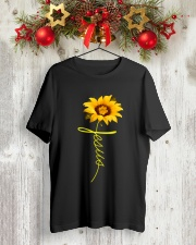 Jesus Classic T-Shirt lifestyle-holiday-crewneck-front-2