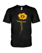 Jesus V-Neck T-Shirt thumbnail