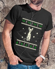Christmas Sphynx Cat Premium Fit Mens Tee lifestyle-mens-crewneck-front-4